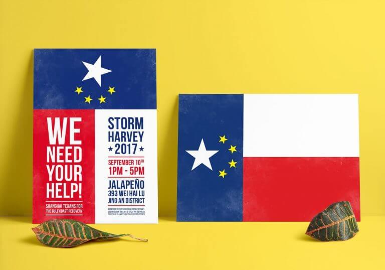 Shanghai Texans  Portfolio Texas posters 768x538